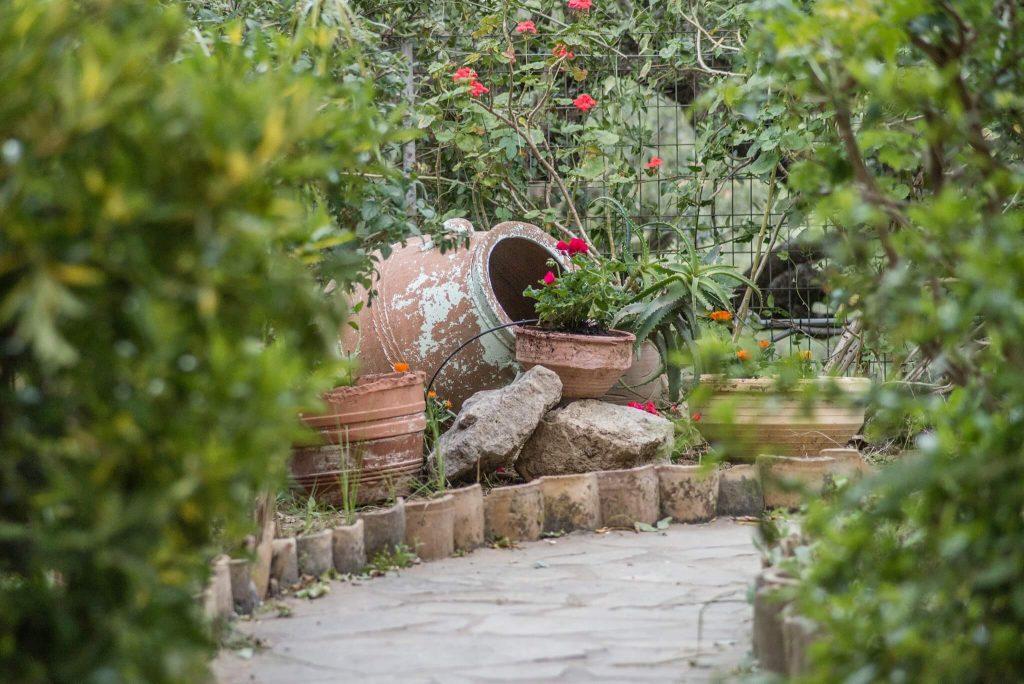 Private garden decoration