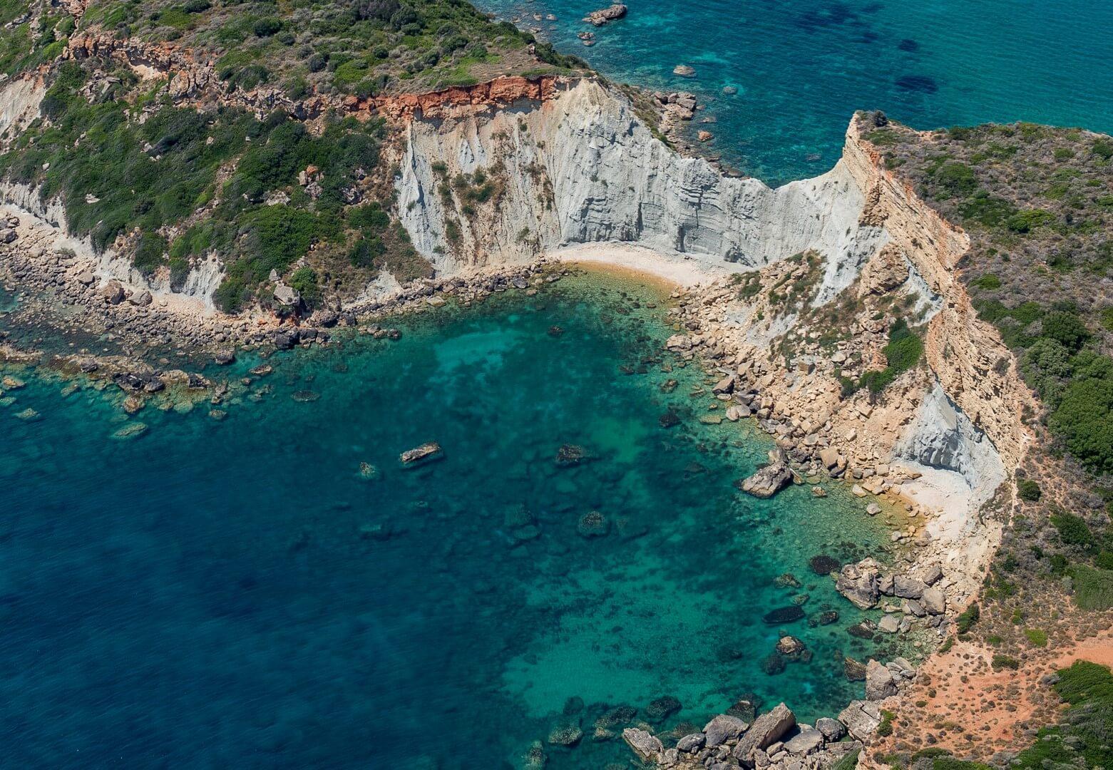 Gerakas beach, caretta caretta turtle beach
