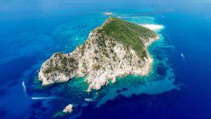 Marathonisi islet, turtle island zakynthos